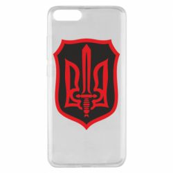 Чехол для Xiaomi Mi Note 3 Shield with the emblem of Ukraine and the sword