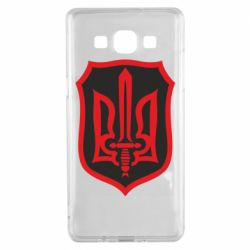 Чехол для Samsung A5 2015 Shield with the emblem of Ukraine and the sword