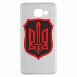 Чехол для Samsung A5 2016 Shield with the emblem of Ukraine and the sword