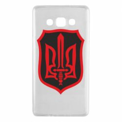 Чехол для Samsung A7 2015 Shield with the emblem of Ukraine and the sword