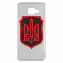 Чехол для Samsung A7 2016 Shield with the emblem of Ukraine and the sword