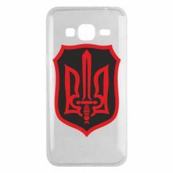 Чехол для Samsung J3 2016 Shield with the emblem of Ukraine and the sword