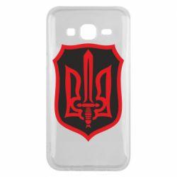 Чехол для Samsung J5 2015 Shield with the emblem of Ukraine and the sword