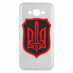 Чехол для Samsung J7 2015 Shield with the emblem of Ukraine and the sword