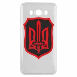 Чехол для Samsung J7 2016 Shield with the emblem of Ukraine and the sword