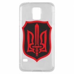 Чехол для Samsung S5 Shield with the emblem of Ukraine and the sword