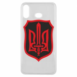 Чехол для Samsung A6s Shield with the emblem of Ukraine and the sword