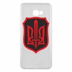 Чехол для Samsung J4 Plus 2018 Shield with the emblem of Ukraine and the sword