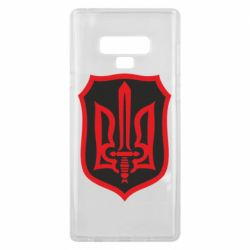 Чехол для Samsung Note 9 Shield with the emblem of Ukraine and the sword