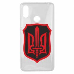 Чехол для Xiaomi Mi Max 3 Shield with the emblem of Ukraine and the sword