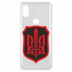 Чехол для Xiaomi Mi Mix 3 Shield with the emblem of Ukraine and the sword
