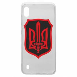 Чехол для Samsung A10 Shield with the emblem of Ukraine and the sword