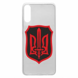 Чехол для Samsung A70 Shield with the emblem of Ukraine and the sword