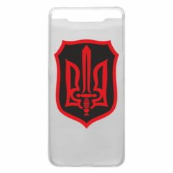 Чехол для Samsung A80 Shield with the emblem of Ukraine and the sword
