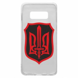 Чехол для Samsung S10e Shield with the emblem of Ukraine and the sword