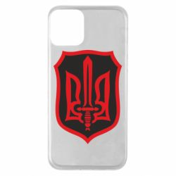 Чехол для iPhone 11 Shield with the emblem of Ukraine and the sword