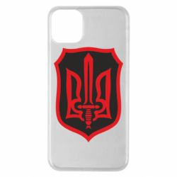 Чехол для iPhone 11 Pro Max Shield with the emblem of Ukraine and the sword
