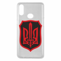Чехол для Samsung A10s Shield with the emblem of Ukraine and the sword