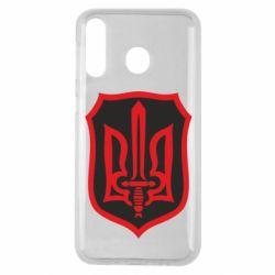 Чехол для Samsung M30 Shield with the emblem of Ukraine and the sword