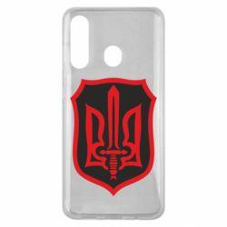 Чехол для Samsung M40 Shield with the emblem of Ukraine and the sword