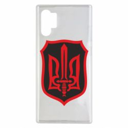 Чехол для Samsung Note 10 Plus Shield with the emblem of Ukraine and the sword
