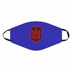 Маска для лица Shield with the emblem of Ukraine and the sword