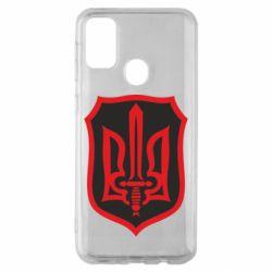 Чехол для Samsung M30s Shield with the emblem of Ukraine and the sword