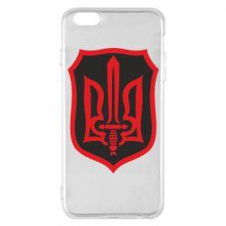 Чехол для iPhone 6 Plus/6S Plus Shield with the emblem of Ukraine and the sword
