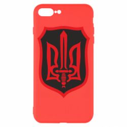 Чехол для iPhone 7 Plus Shield with the emblem of Ukraine and the sword