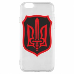 Чехол для iPhone 6/6S Shield with the emblem of Ukraine and the sword