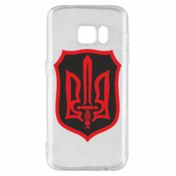 Чехол для Samsung S7 Shield with the emblem of Ukraine and the sword