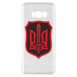 Чехол для Samsung S8 Shield with the emblem of Ukraine and the sword