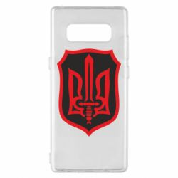 Чехол для Samsung Note 8 Shield with the emblem of Ukraine and the sword