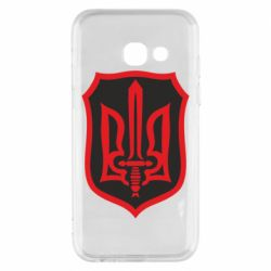 Чехол для Samsung A3 2017 Shield with the emblem of Ukraine and the sword