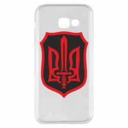 Чехол для Samsung A5 2017 Shield with the emblem of Ukraine and the sword