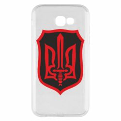 Чехол для Samsung A7 2017 Shield with the emblem of Ukraine and the sword