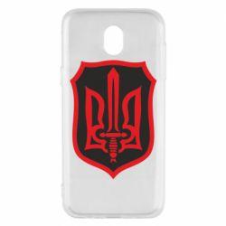 Чехол для Samsung J5 2017 Shield with the emblem of Ukraine and the sword
