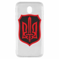 Чехол для Samsung J7 2017 Shield with the emblem of Ukraine and the sword