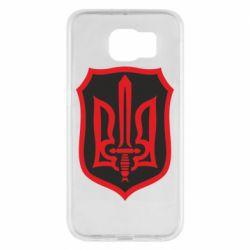 Чехол для Samsung S6 Shield with the emblem of Ukraine and the sword