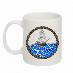 Кружка 320ml Ship and rope