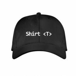 Детская кепка Shirt T