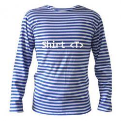 Тельняшка с длинным рукавом Shirt T