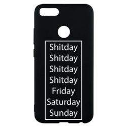 Чехол для Xiaomi Mi A1 Shitday friday saturday sunday