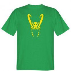 Мужская футболка Шлем Локи - FatLine