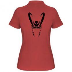 Женская футболка поло Шлем Локи - FatLine
