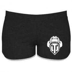 Женские шорты Шлем WOT - FatLine