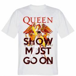 Чоловіча футболка Show must go on