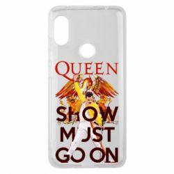 Чохол для Xiaomi Redmi Note Pro 6 Show must go on