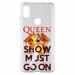 Чохол для Xiaomi Redmi S2 Show must go on