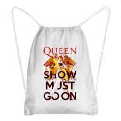 Рюкзак-мішок Show must go on